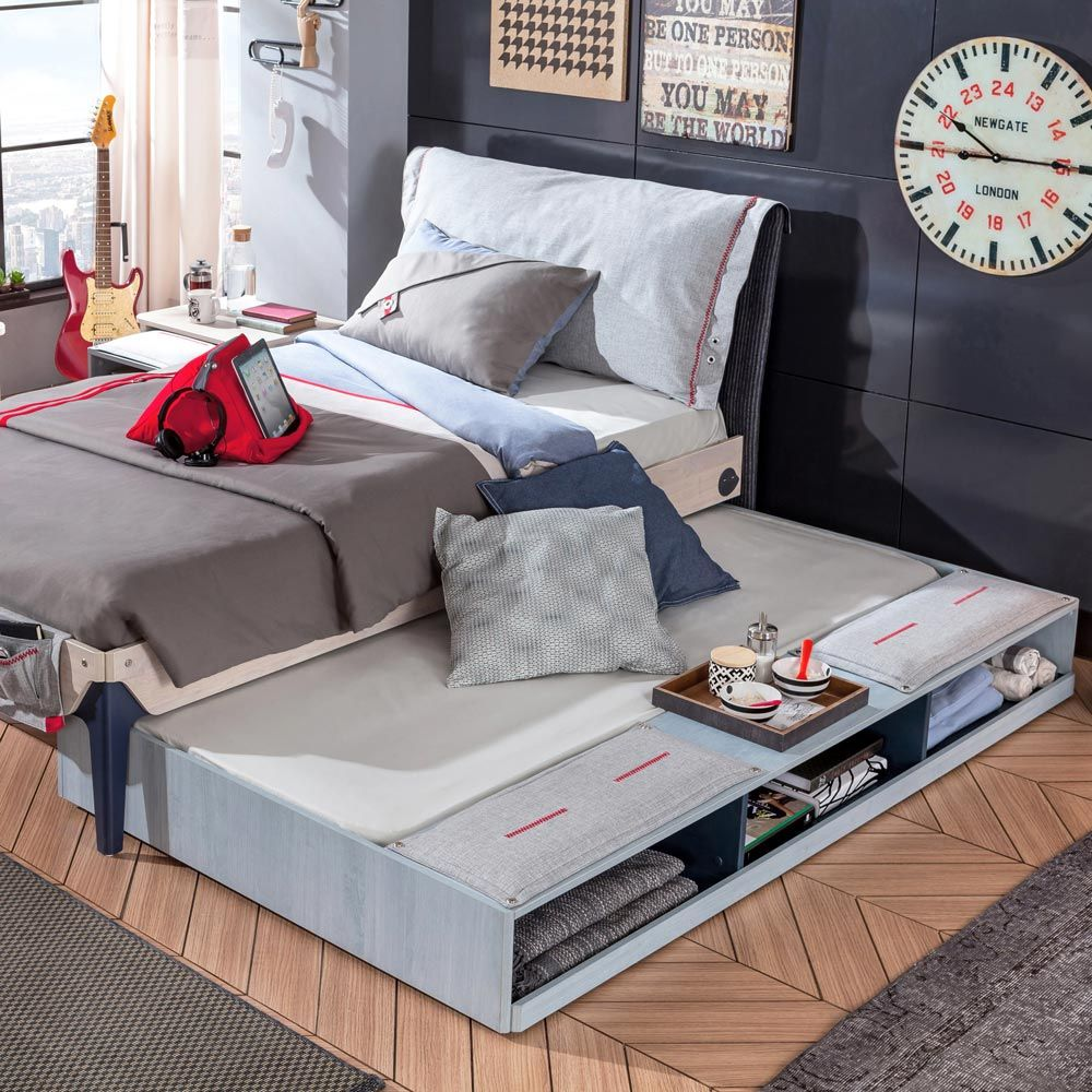 Amazing Single Bed With Trundle