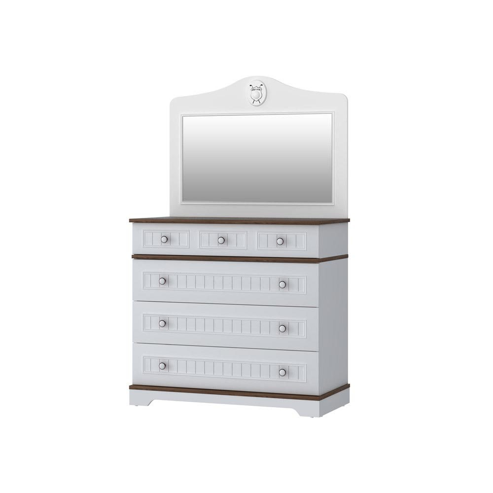 Golf Star Chest of Drawers with a Mirror