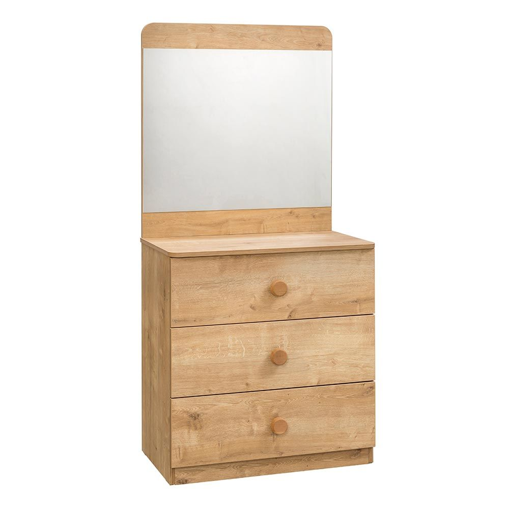 Contemporary Mirrored Chest Of Drawers