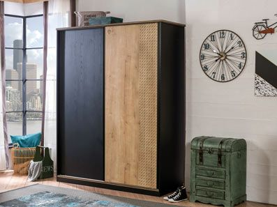 Ingenious Sliding Double Wardrobe