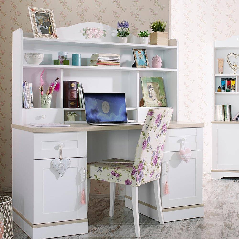 Laura Study Desk with Top Module