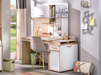 Robust Kids Desk With Storage